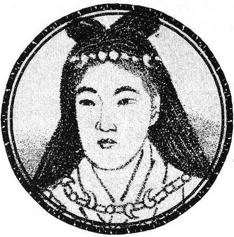第一位女天皇推古/554年到628年/ 圖片來源