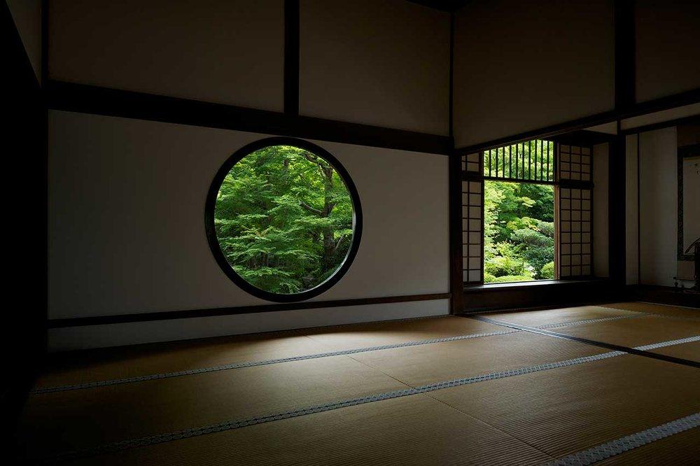 京都/源光庵/建築上的侘寂韻味/ 圖片來源