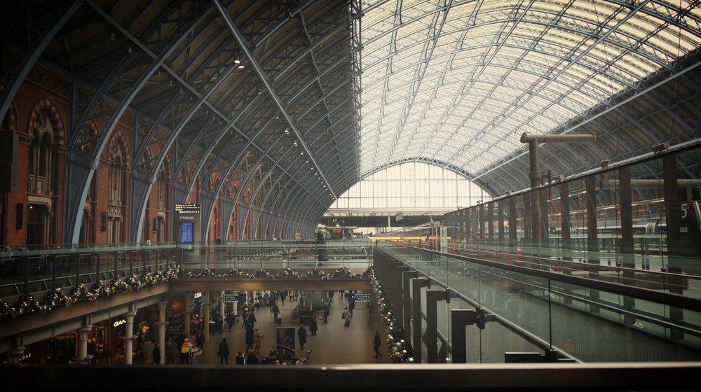 聖潘克拉斯 St. Pancras Railway Station 「拱廊」 ©2016 Joseph Lee