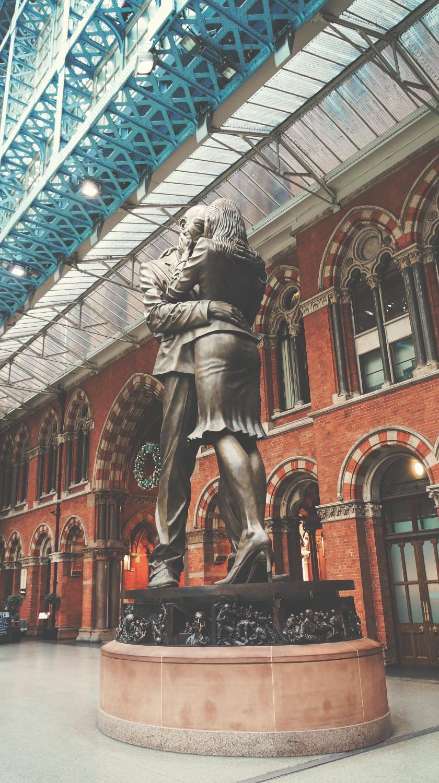 聖潘克拉斯 St. Pancras Railway Station 「會面點」 ©2016 Joseph Lee