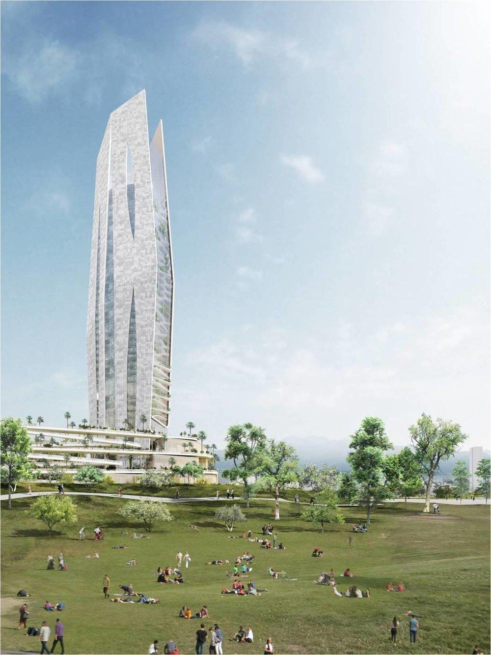 2017競圖獲選 劉培森建築師+Portzamparc (法) / 台中都市發展局