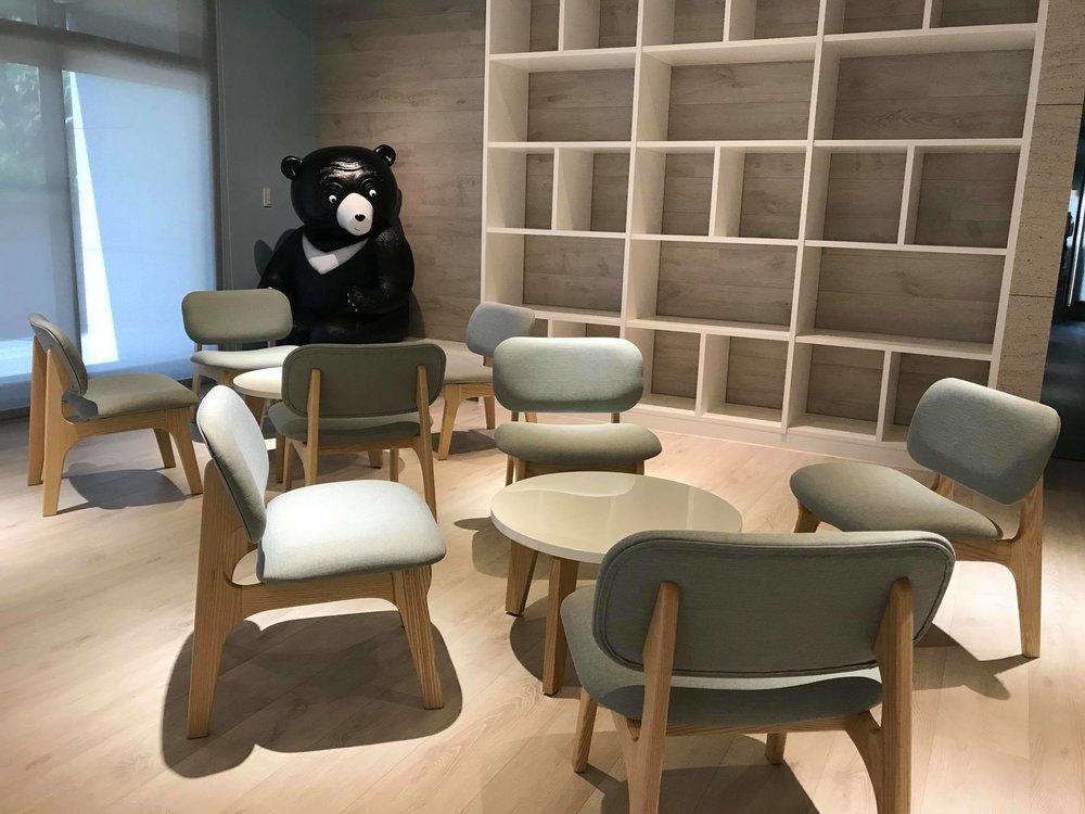 於兒童遊戲室內的晴朗熊/ 廣宇晴朗