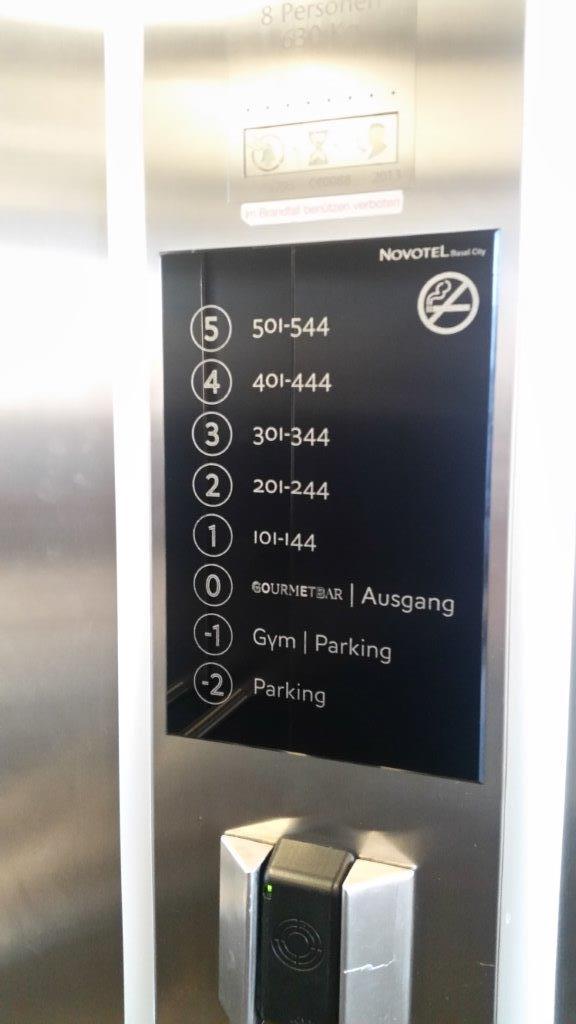 Liftbeschriftung