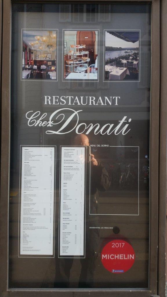 Restaurant-Beschriftung