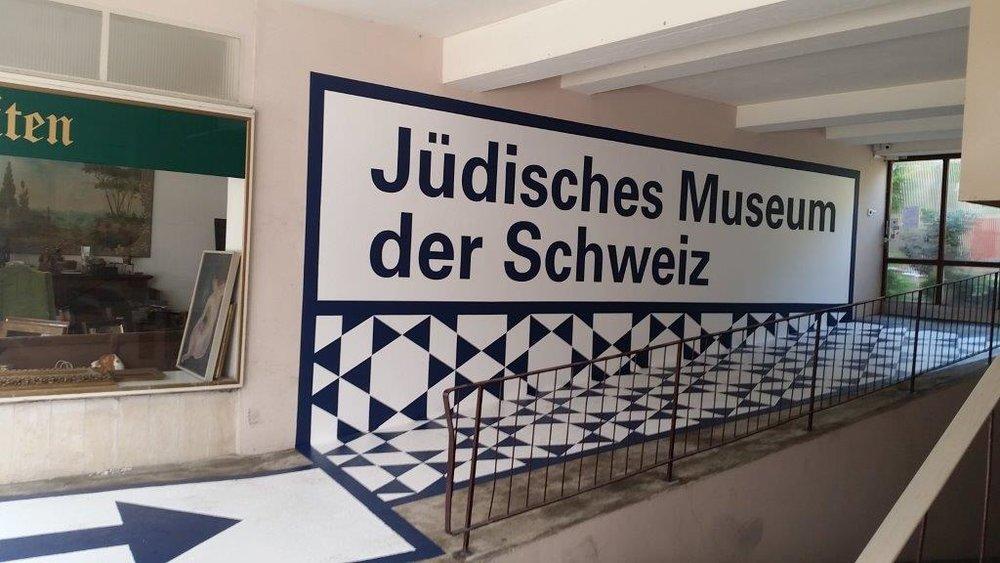 Museum-Beschriftung