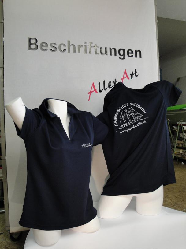 Polo T-Shirt bedruckt