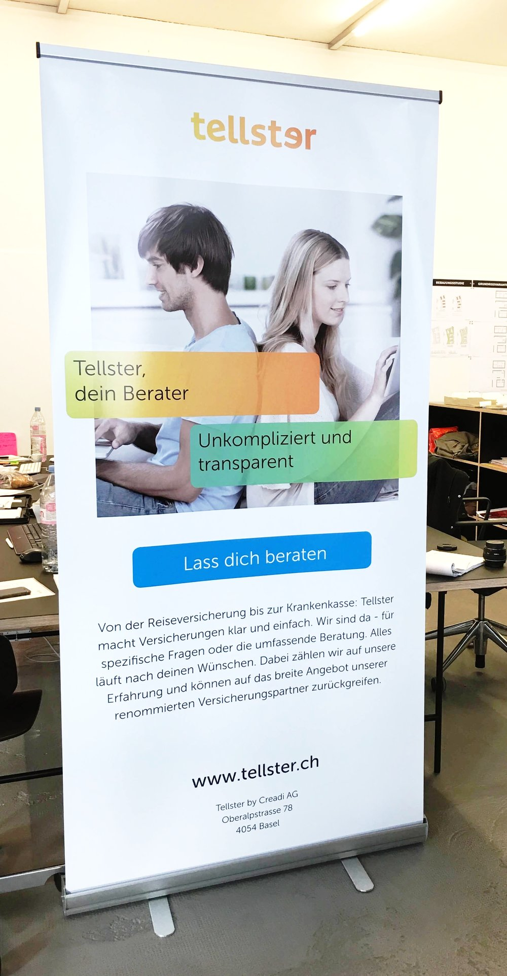 Roll-up Display Messe