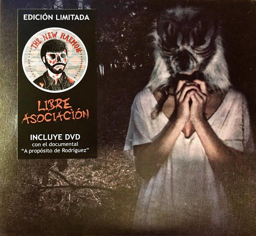 """The New Raemon CD """"Libre asociación"""" + DVD """"A propósito de Rodríguez"""" (Limited edition). BCore 2011."""