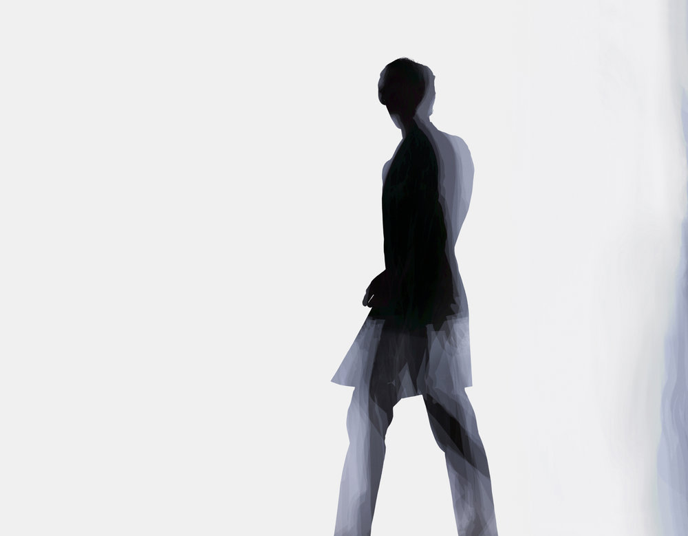 Unstructured multi exposure image, 2007. Photograph Nick Knight
