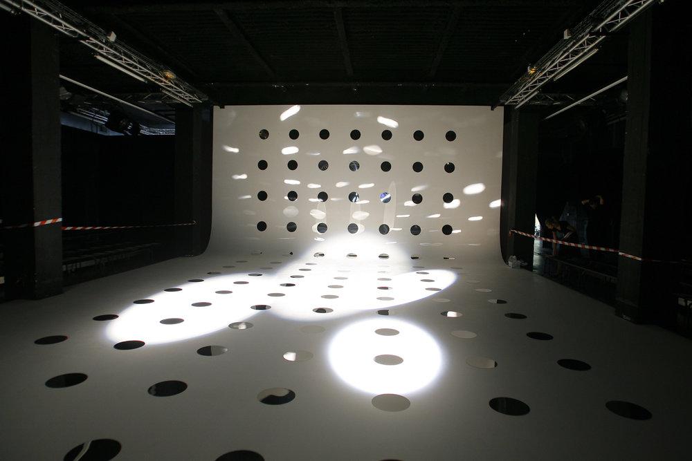 Fashion show set, 2008.