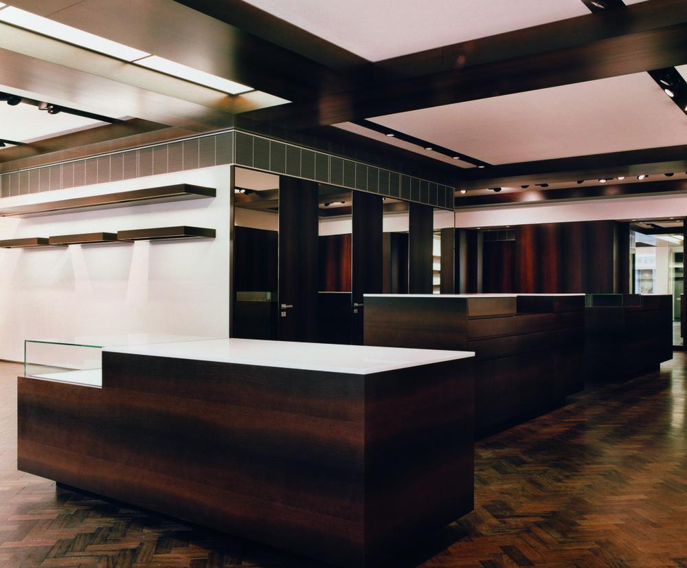 No.8 Savile Row, design May 2003.