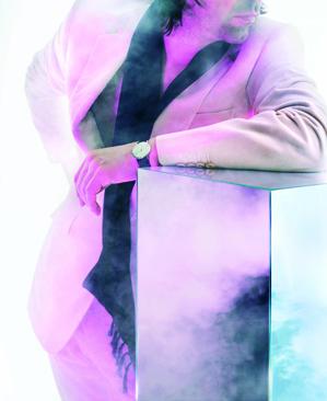 Advertising Image S/S 2006, model Peter Saville.