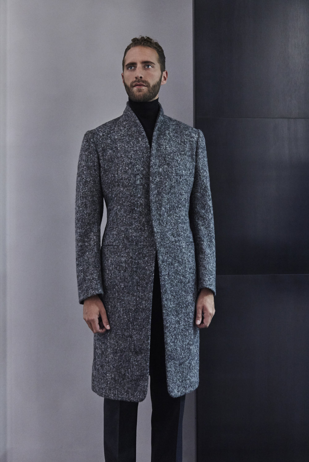 A/W 2016 Unstructured Shawl Coat.