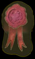 King Galdo's wax seal