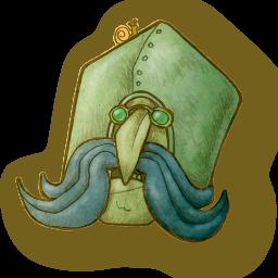 Sir Strompoff's head
