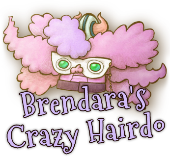 Brendara's Crazy Hairdo Head