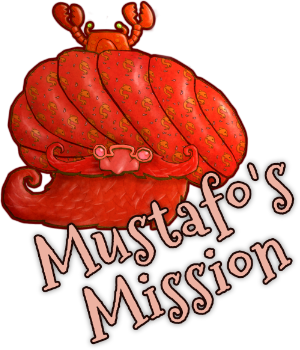 A quick and fun table top game for you to make.  Help Mustafo find his way through the dangerous seas to the land of Galdovia!