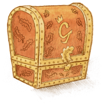 a treasure chest
