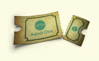 a torn ticket