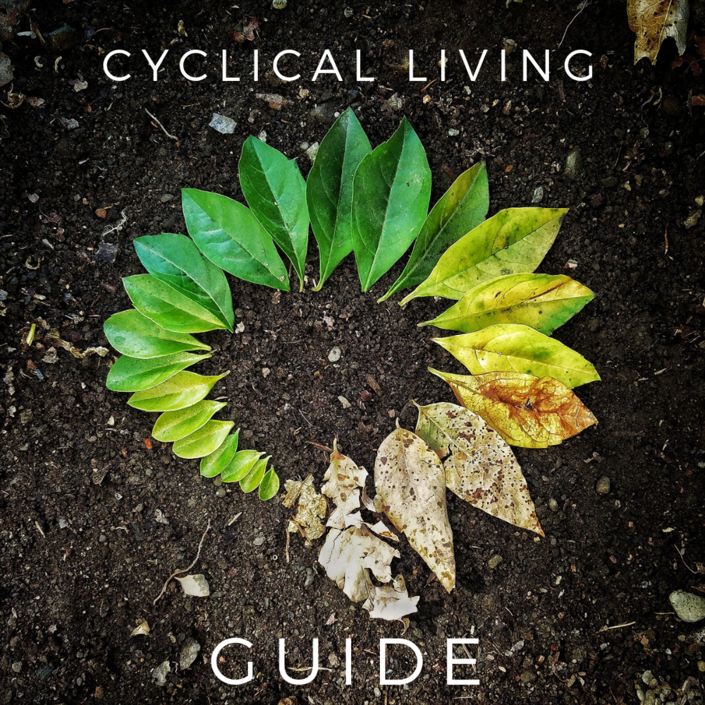 Click the download button to receive the accompanying Cyclical Living Tracker GUIDE. -