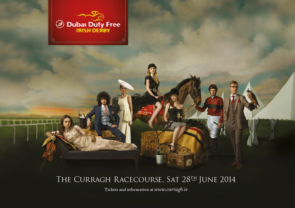 DUBAI IRISH DERBY: ART DIRECTION / DESIGN  VIEW PROJECT >>