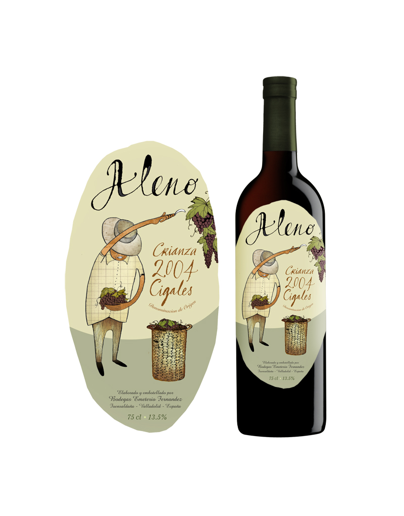 ALENO WINE: ART DIRECTION / DESIGN / ILLUSTRATION