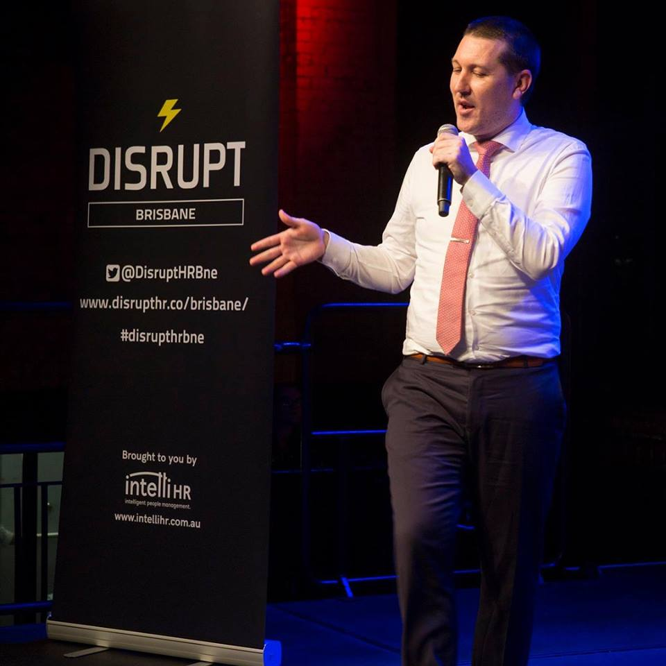 Playing to my strength at DisruptHR Brisbane 2018