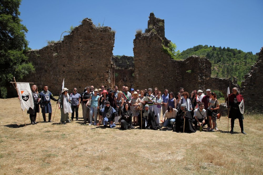 Summer seminar 2017 - The Umbertina Tour (from the novel by Helen Barolini) a Community-Engaged Scholarship program field trip. The abbey was built by the Norsemen and run by the Benedictines (XI century).