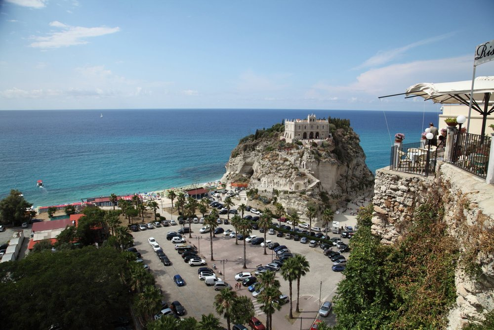 Summer seminar 2015 - Field trip to the sanctuary of Saint Francis of Paola, then half a day in Tropea, on the Tyrrhenhian Sea.