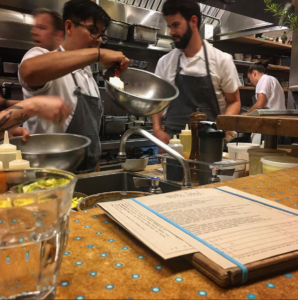 Chef Wes Barrington at State Bird Provisions