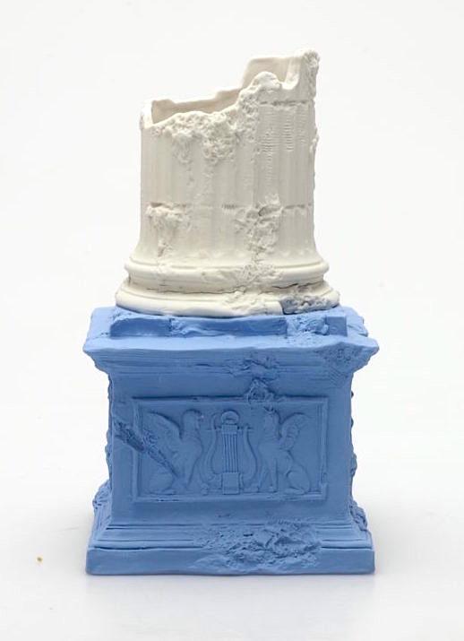 Ruined column vase by Josiah Wedgwood, c. 1780. Photograph © Wedgwood Museum / WWRD.