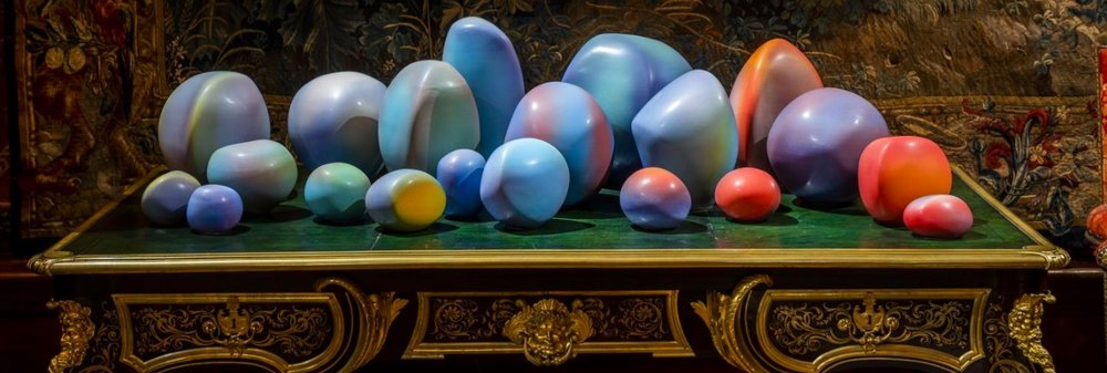 Pippin Drysdale,  Evensong (Devil's Marbles) , 2016. Courtesy: Chatsworth House Trust; photograph: Simon Broadhead