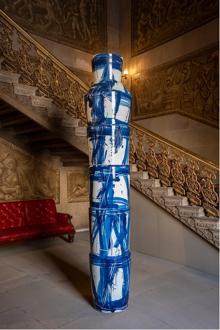 Felicity Aylief,  Chinese Ladders , 2008. Courtesy: Chatsworth House Trust; photograph: Simon Broadhead