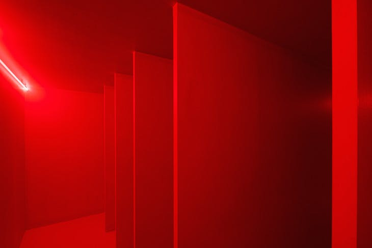 Spatial Environment in Red Light , 1967.