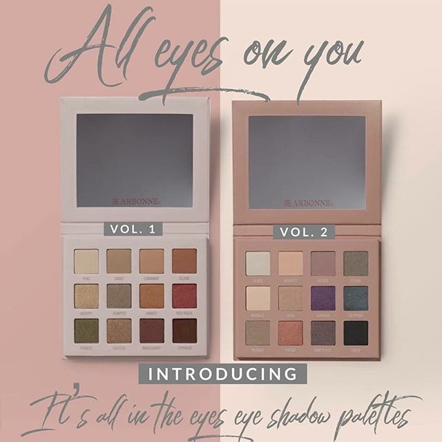 Ok so we are a little obsessed with your new products #ARBONNE 🌿#vegan #nontoxic #parabenfree #eyeshadowpalettes #puresafebeneficial #pureglotanning  krystalmcshane.arbonne.com