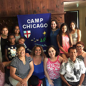 Camp Chicago - The Diocese of Chicago offers this week-long program every summer for children and youth 7-17 years old. Among the goals of Camp Chicago is for kids to