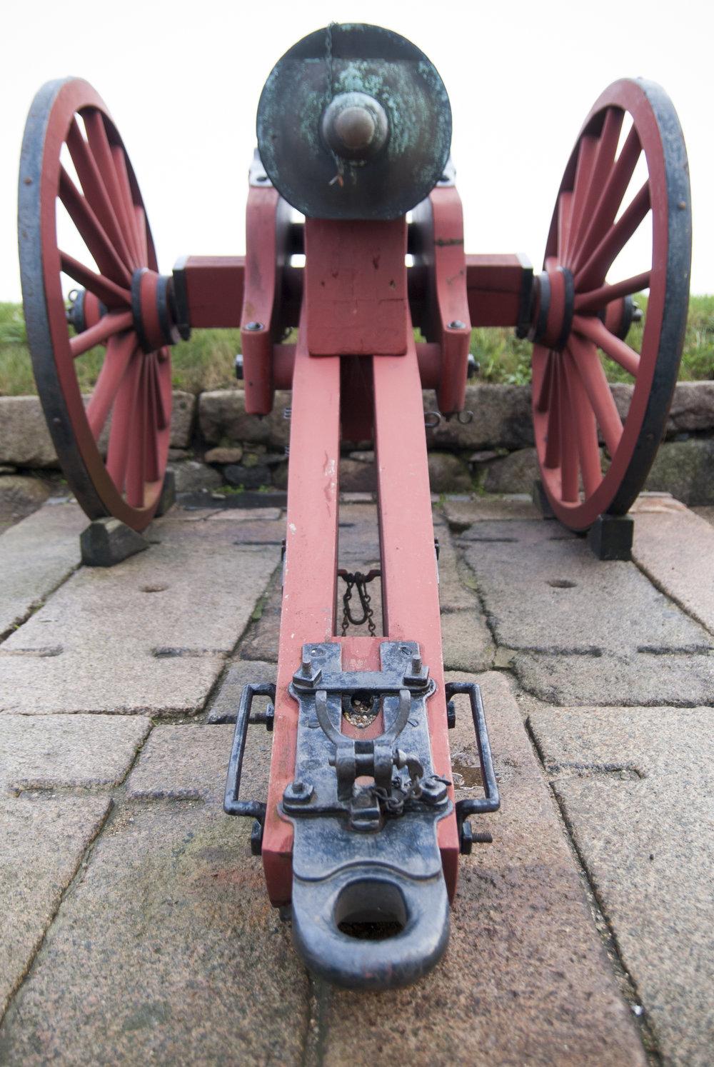 Linde Smide & Metallgestaltning. Lavetter till kanonerna på Kronborg, Danmark. Restaurerade och kompletterade. 17- och 1800-tal.