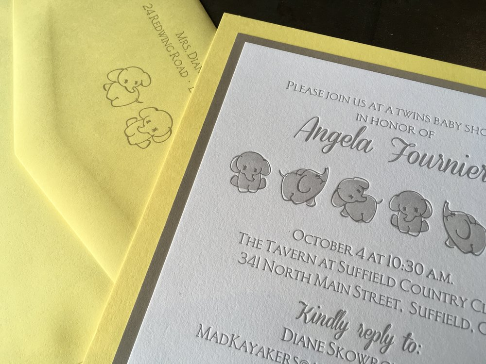 Baby Showers & Birth Announcements