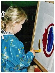 South Hills School Wilton painting