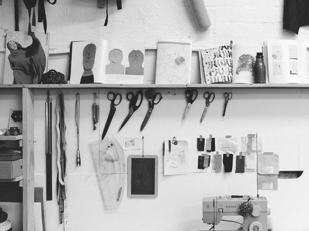 - arrange a fitting at the bristol based studio