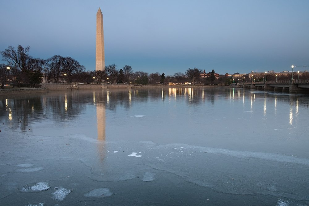 Monument from the Tidal Basin