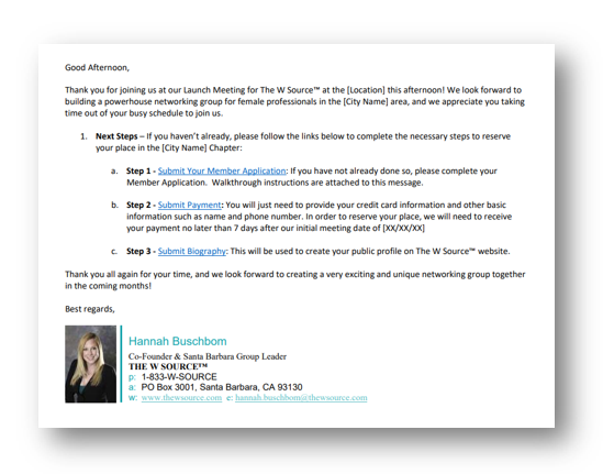 EMAIL TEMPLATES -