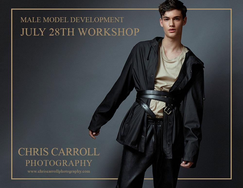 Male Model Development Workshop