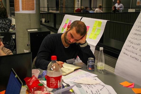 Hard werken, nadenken en plannen uitwerken