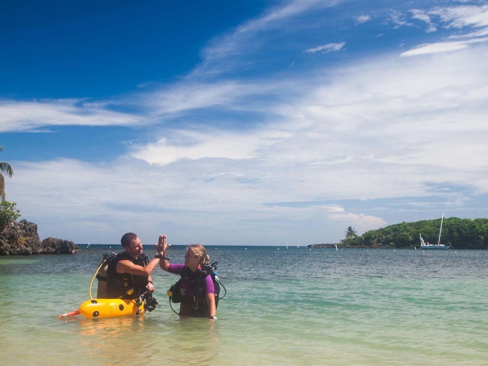 Roatan PADI instructor course