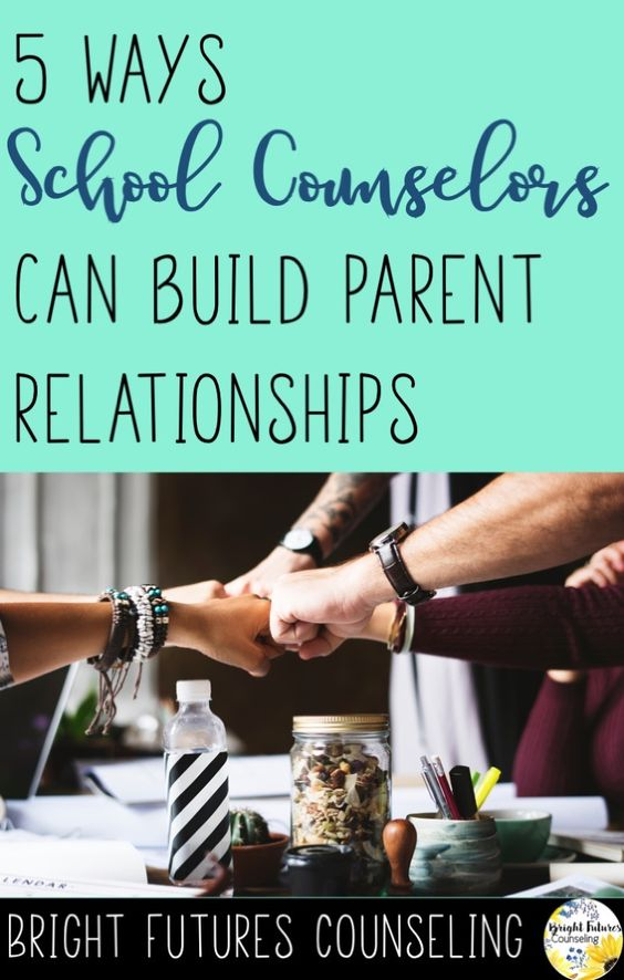 5 ways school counselors can build parent relationships and increase parent involvement. #brightfuturescounseling #elementaryschoolcounseling #elementaryschoolcounselor #schoolcounseling #schoolcounselor #parentinvolvement