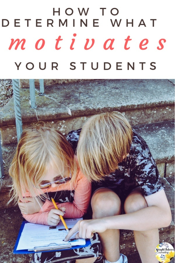 Determine what motivates your students by using these motivation assessment scales and surveys in your school counseling program. #brightfuturescounseling #elementaryschoolcounseling #elementaryschoolcounselor #schoolcounseling #schoolcounselor #motivation #motivationassessment