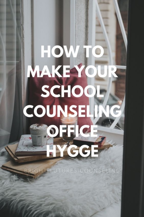 Elementary school counseling office decor and set up. How to make your school counseling office hygge. Creating a welcoming space is vital for students' success in counseling. How to Make Your School Counseling Office Hygge — Bright Futures Counseling #brightfuturescounseling #elementaryschoolcounseling #elementaryschoolcounselor #schoolcounseling #schoolcounselor #hyggeoffice #counselingofficeideas #schoolcounselingofficeideas