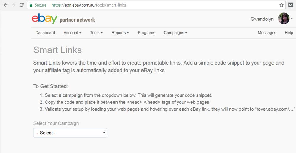 Smart Links Interface