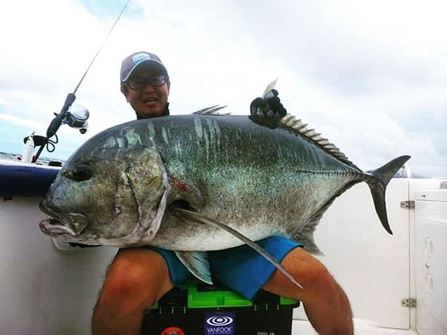 Sea fishing season is on !!! #gtfishing, #jigging, #studiooceanmark, #cbone, #fishingsrilanka, #sportfishinglanka